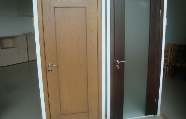 Пресована врата МДФ
