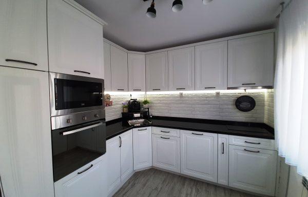 Кухня бял МДФ 014